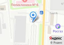 Компания «Азино» на карте