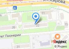 Компания «Дента стоматологическая клиника» на карте
