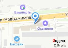 Компания «Уником» на карте