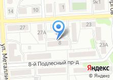 Компания «Мясное подворье сеть продовольственных магазинов» на карте
