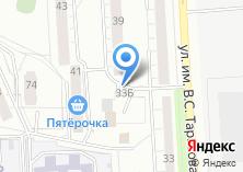 Компания «Фруктовая» на карте