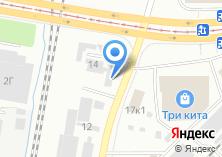 Компания «Тактон-монтаж» на карте