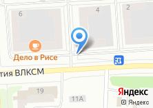 Компания «Металлург» на карте