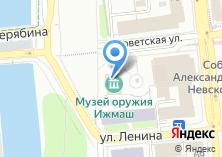 Компания «Ижмаш» на карте