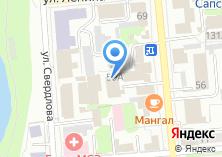 Компания «Радуга клуб-отель» на карте