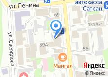 Компания «Урал-Медиа» на карте