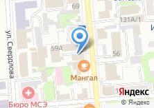 Компания «Аспэк» на карте