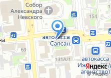 Компания «Центр меха» на карте