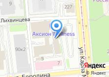 Компания «Лайнер Телеком» на карте