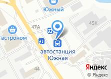 Компания «Южная автостанция» на карте
