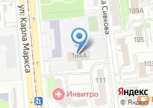 Компания «Fitness Line» на карте