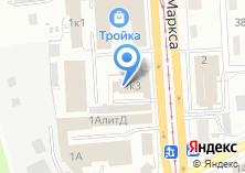 Компания «Евразия» на карте