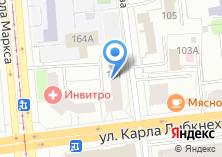 Компания «Сто одёжек» на карте