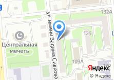 Компания «АКБ ИнтрастБанк» на карте