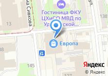 Компания «Evrika» на карте
