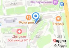 Компания «Народные Окна» на карте