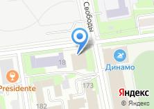 Компания «Ижевский нефтяной научный центр» на карте