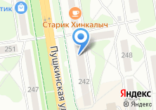 Компания «Мечта туриста» на карте
