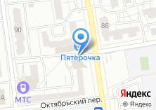 Компания «Эллипс банк» на карте