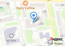 Компания «Общежитие ИГМА» на карте