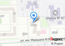 Компания «Центр социального обслуживания населения №2 Октябрьского района г. Ижевска» на карте