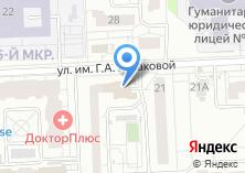 Компания «Устиновская» на карте