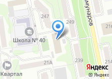 Компания «Мангуст» на карте