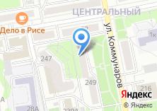 Компания «Линос» на карте