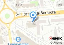 Компания «FitLife» на карте