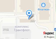Компания «Work5» на карте