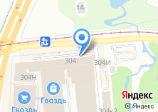 Компания «Тесла» на карте