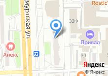 Компания «Дарди» на карте