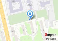 Компания «Техноцентр» на карте