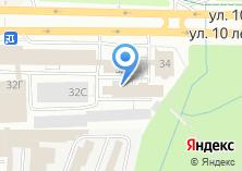 Компания «Омега-Фитнес» на карте