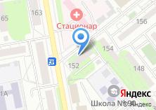 Компания «ИнвестСервис» на карте