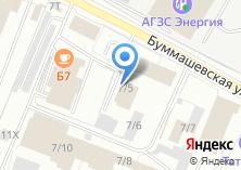 Компания «Амкор» на карте