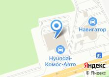 Компания «Hyundai» на карте