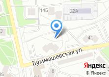 Компания «Строящийся жилой дом по ул. Бумашевская» на карте