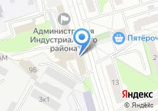 Компания «ИжСнабПром» на карте