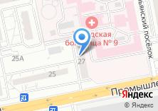Компания «Парикмахерская на Промышленной» на карте