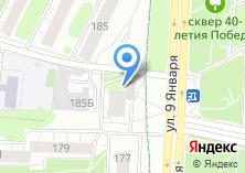 Компания «Центр окон» на карте