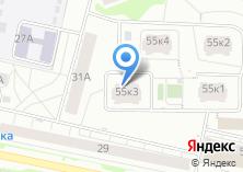 Компания «Рай» на карте