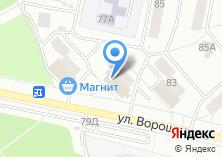 Компания «МебельИжКо» на карте