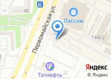 Компания «Первомайская-1» на карте