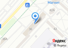 Компания «Акрона» на карте