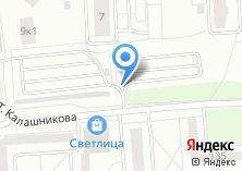Компания «Молодежная» на карте