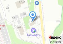 Компания «МТ-сервис» на карте