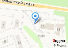 Компания «Строящееся административное здание по ул. Полесская» на карте
