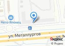 Компания «Строящееся административное здание по ул. Металлургов» на карте