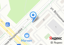 Компания «Строящийся жилой дом по ул. Мехренцева» на карте